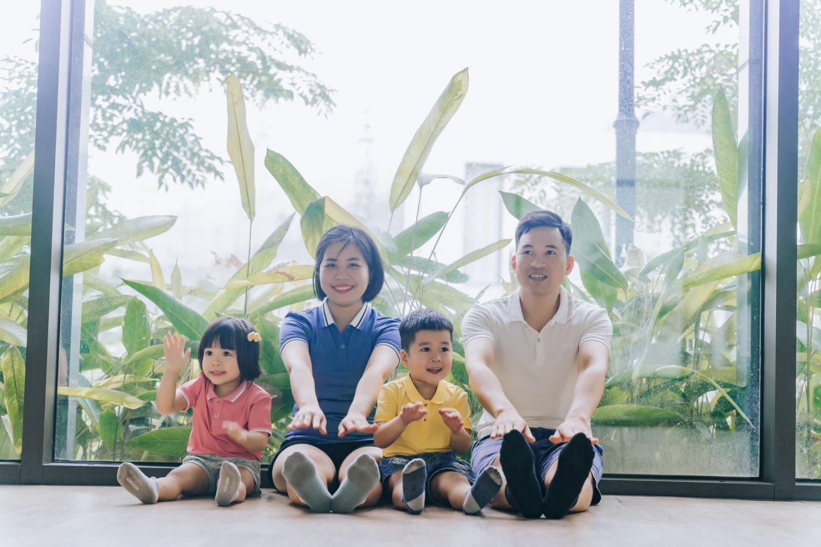 Gia đình nhỏ của anh Xuân Đạt