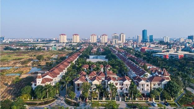 hình ảnh khu đô thị Ciputra
