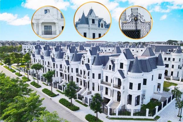 hình ảnh biệt thự lâu đài Green Center Villas