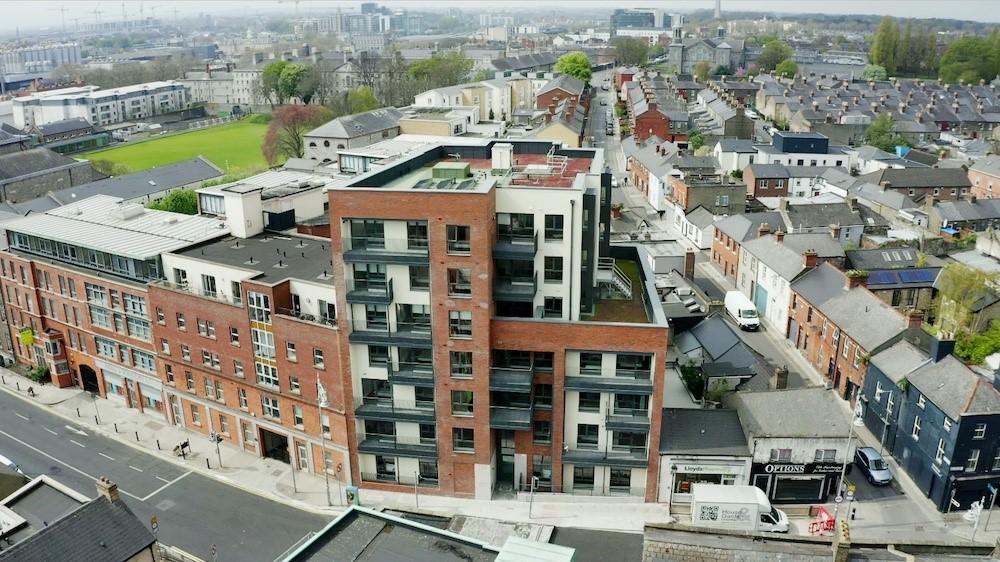 Dự án nhà ở xã hội mới nhất của Bartra là Colmcille House tại Stoneybatter, Dublin 7, hoàn công vào tháng 4 với tổng cộng 23 căn hộ, tọa lạc tại vị trí đắc địa ở Dublin. Ảnh: Bartra