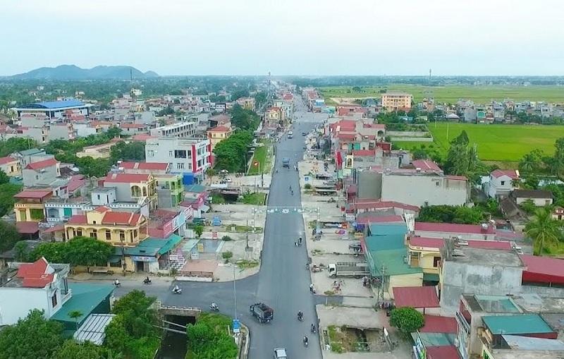 Một góc huyện Hoằng Hóa