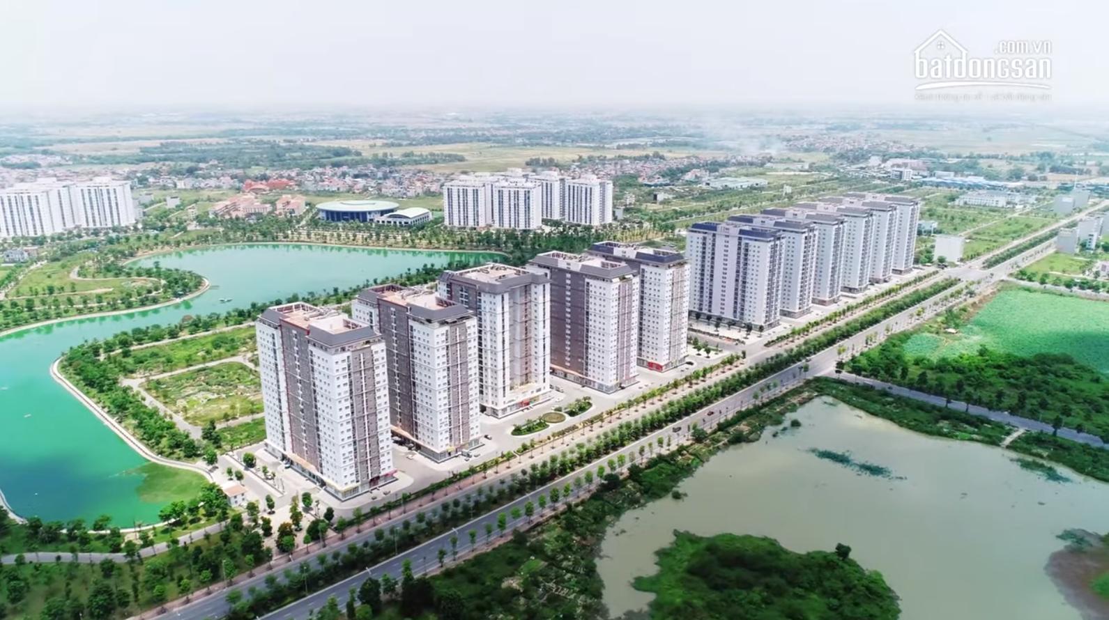 Một góc dự án khu đô thị Thanh Hà