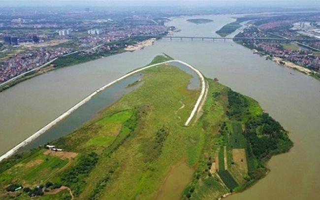 hình ảnh phân khu quy hoạch sông Hồng