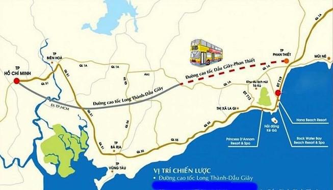 cao tốc Long Dầu Giây - Phan Thiết