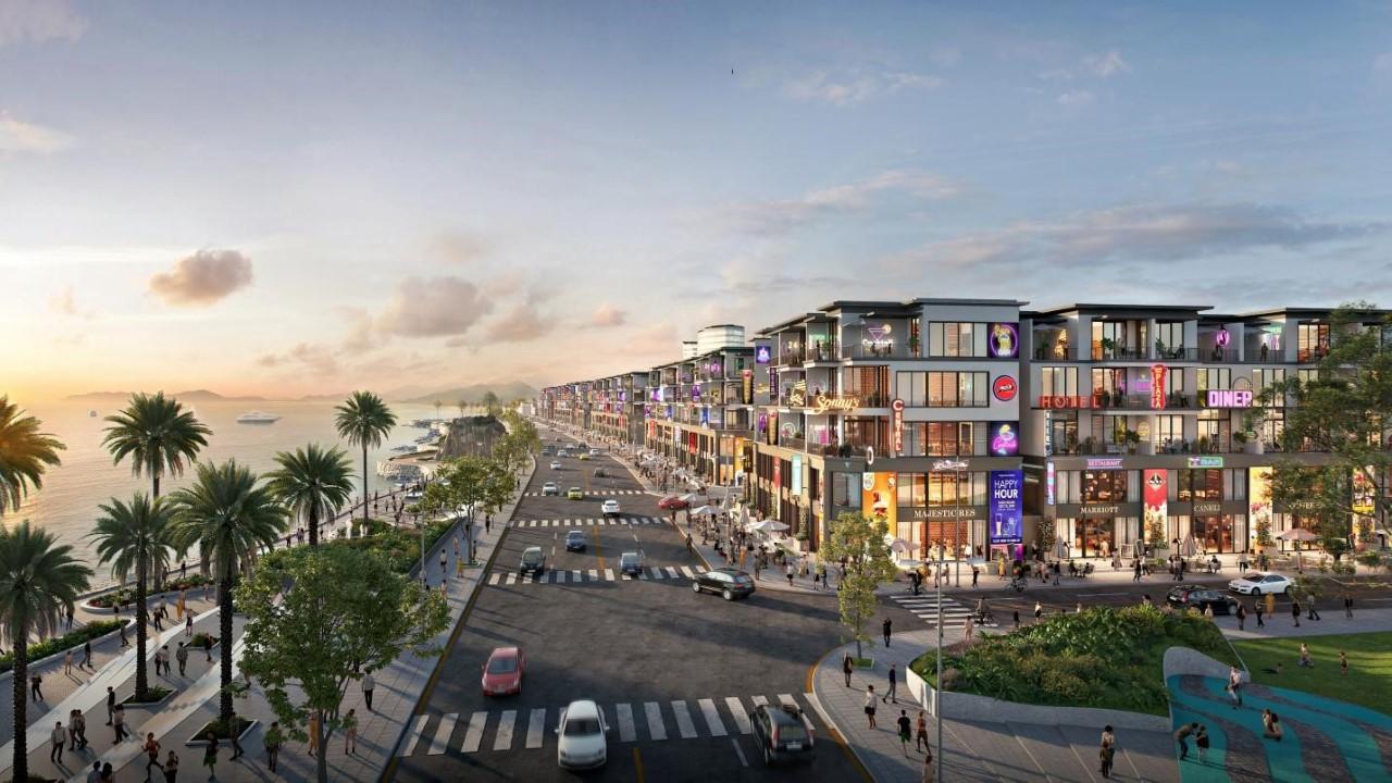 Phối cảnh dự án Lagi New City