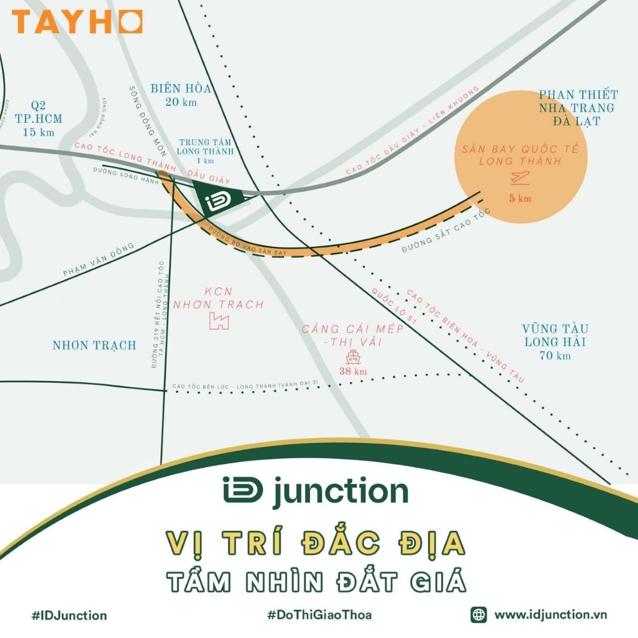 Sơ đồ vị trí dự án iD Junction