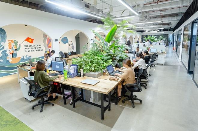 hình ảnh thị trường văn phòng