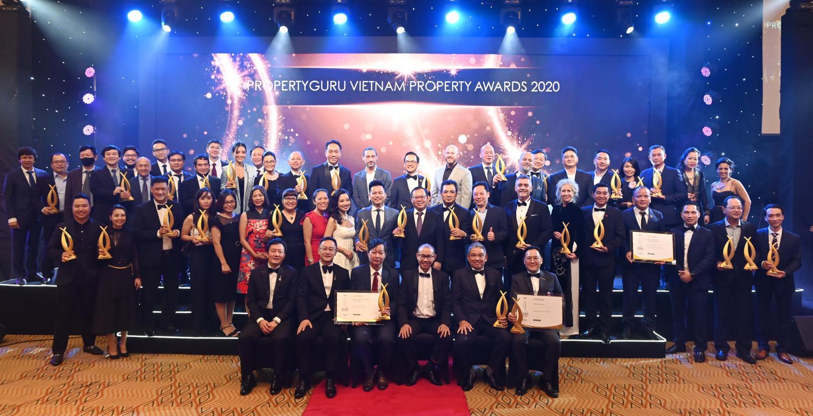 Sân khấu Giải thưởng Bất động sản Việt Nam PropertyGuru