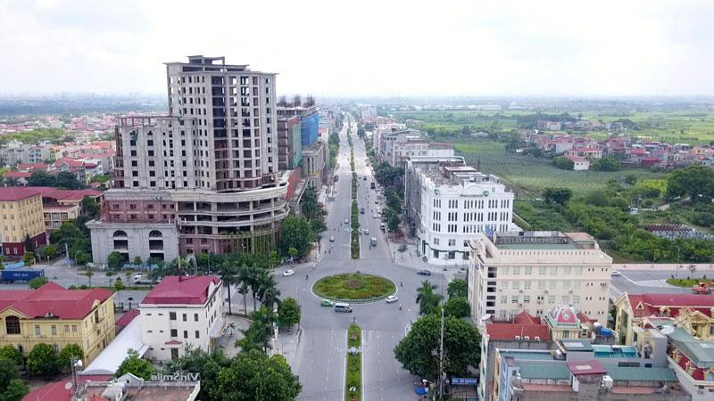 trung tâm thành phố Từ Sơn