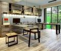 Căn hộ đẹp bình yên nhờ sử dụng gỗ và sắt tái chế