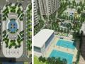 Bán căn 3 phòng ngủ, 2 vệ sinh chung cư căn số 01 tầng 12 dự án The Vesta, giá 930 triệu