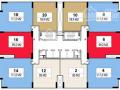 Bán căn hộ Rainbow Văn Quán 80m2, thiết kế 2PN, 2WC, sổ đỏ chính chủ, nhà 2 ban công