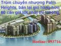 Chính chủ bán gấp CH Palm Heights 2PN - 2 tỷ 860, 3PN - 3 tỷ 790, view đẹp, bán rẻ hơn CĐT 200tr