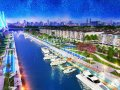 Hot! Hot! Hot! An urban area with 3 riverside views starting at prices as low as 410USD/m2