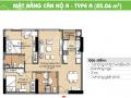 Cần bán gấp căn hộ CC Era Town Đức Khải, Q7, 1tỷ7, 85m2, 2PN, LH 0902 339 985
