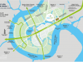 New City Thu Thiem at new urban area District 2, future CBD of HCMC