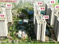 Mở bán tòa V8 mặt đường Thanh Lãm kiot 32m2 giá 33tr/m2 The Vesta, Ba La, Hà Đông. LH: 01672543222