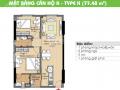 Cần bán gấp căn hộ CC Era Town Đức Khải, Q7, 1tỷ720, 77m2, 2PN, căn góc LH: 0902 339 985