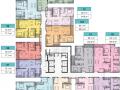 Bán căn hộ 09 tòa T3 2PN 78m2, tầng đẹp, giá 4,1 tỷ tại dự án Sun Group Lương Yên. LH 098.369.3518