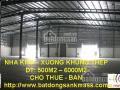 Cho thuê kho xưởng 1500m2 - 5000m2 tại Hà Nam