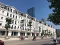 Cần bán nhà liền kề mặt phố Nguyễn Xiển xây 5 tầng, đường 62m, DT 75m2, kinh doanh cực tốt