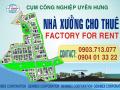 Nhà xưởng cho thuê thuộc cụm công nghiệp Uyên Hưng, liên hệ 0937.871.733