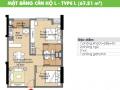 Cần bán gấp căn hộ C/C Era Town Đức Khải, Q7, 1tỷ480tr, view sông 67m2, 2PN, LH 0902 339 985