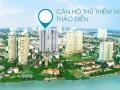Bán căn hộ chung cư Thủ Thiêm Sky, 188/1 Nguyễn Văn Hưởng, Thảo Điền, Q2. 57m2/2PN, giá 2tỷ100