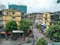 Bán căn hộ tập thể 1,55 tỷ mặt đường Quỳnh Mai, Kim Ngưu, Hai Bà Trưng, căn đầu hồi DT 70m2