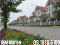 Cần tiền bán biệt thự khu đô thị mới Mễ Trì Thượng dt 120m2, MT 9m, xây thô 4 tầng, giá 10,5 tỷ
