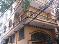Cho thuê căn nhà ngõ 106 Hoàng Quốc Việt. DT 65m2 xây 4 tầng, căn góc 2 mặt tiền, ngõ rộng 8m