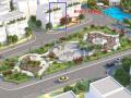 Bán biệt thự song lập R10.7 dự án The Eden Rose Thanh Liệt, 163m2, view quảng trường hoa hồng