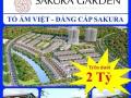 Dự án Sakura Garden, khu đô thị Bắc Sông Cấm, Hải Phòng; LH: 0943.168.486