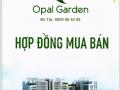 Tháng 12 thông báo bàn giao - Opal Garden view Sông SG - DT 72m2, giá 2,590 tỷ