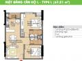 Cần bán gấp căn hộ CC Era Town Đức Khải, Q7, 1tỷ480tr, view sông 67m2, 2PN, LH 0902 339 985