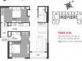 Bán nhà chung cư Hinode City 201 Minh Khai chính chủ 2PN, 76,43m2 tòa Sachi