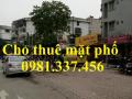 Cho thuê nhà mặt phố Lý Thường Kiệt 190m2 MT 8m 2 tầng 175tr/th, Quý mặt phố 0981337456