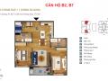 Bán căn B7, diện tích 79,3m2 chung cư Sky Park số 3 Tôn Thất Thuyết giá 3,5 tỷ, LH 0981.971.246