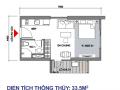Bán căn hộ studio 33m2 siêu hot dự án Vincity Ocean Park. LH: 0915972886