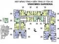 Bán căn hộ chung cư Vinhomes Gardenia tòa A2, 110m2, 3 phòng ngủ, 4 tỷ 150. LH:0971866612