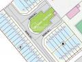 Bán lô đất B4 dự án Tocontap đối diện CĐ Công Thương, đường Tăng Nhơn Phú, PLB Q9 - 105m2 / 53tr/m2