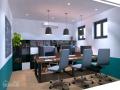 Văn phòng giá rẻ trọn gói nội thất dịch vụ 4-5 người làm việc