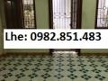 Cho thuê nhà 62m2 x 4 tầng ngõ 44 Trần Thái Tông, tiện ở, văn phòng. 13 triệu/tháng