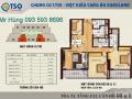 Chính chủ cần bán căn hộ TSQ 3 phòng ngủ, có ban công rộng, giá rẻ hơn thị trường. LH: 0984 673 788