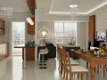 Cho thuê căn hộ chung cư Tân Phước Plaza, Q11, 70m2, 2 pn, giá 10tr. Lh Vân 0903309428