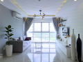 Happy Valley apartment for rent, size 100sqm, price 25 millions per month, Call 0909427911