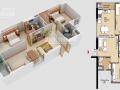 Cần bán căn hộ Era Town, Q7, 2PN, 2WC, nhà trống, giá cực tốt 1.65 tỷ