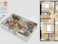 Cần bán căn hộ Era Town, Q7, 77m2, 2PN, 2WC, nhà trống, giá cực tốt 1.67 tỷ thương lượng