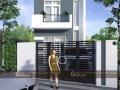 Bán nhà Phú Hòa 1 lầu 1 trệt kế cafe Amy Mỹ Phước Tân Vạn