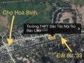 Chính chủ cần bán 270m2 đất mặt tiền đường 3/2, TT Hoà Bình